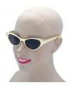 Gouden rock en roll bril