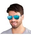 Reflecterende piloten party bril